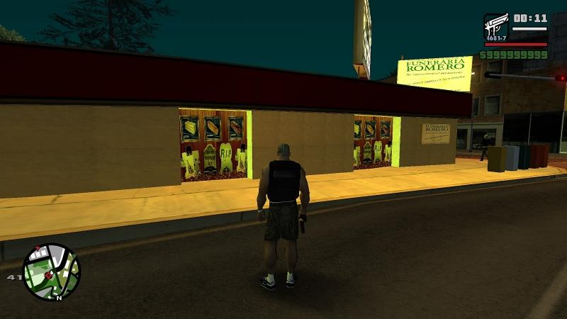 Mod Funeral Home Romero of VC for GTA San Andreas
