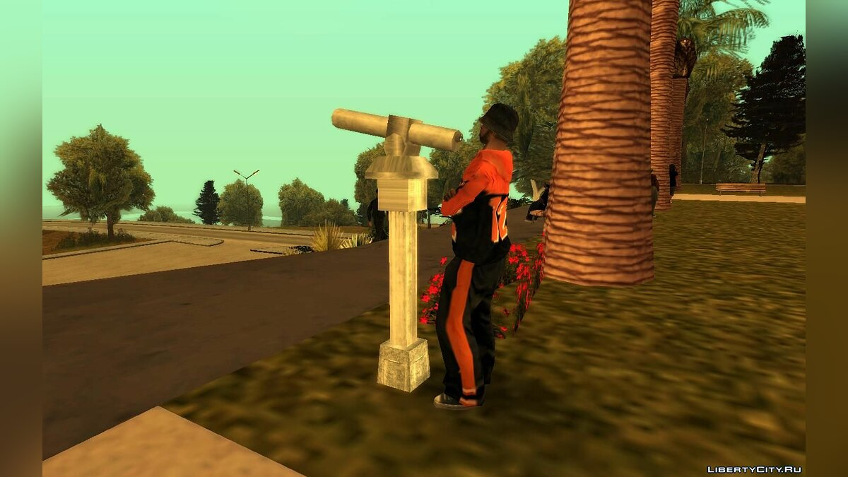 Mod Pedestrians interact with objects for GTA San Andreas