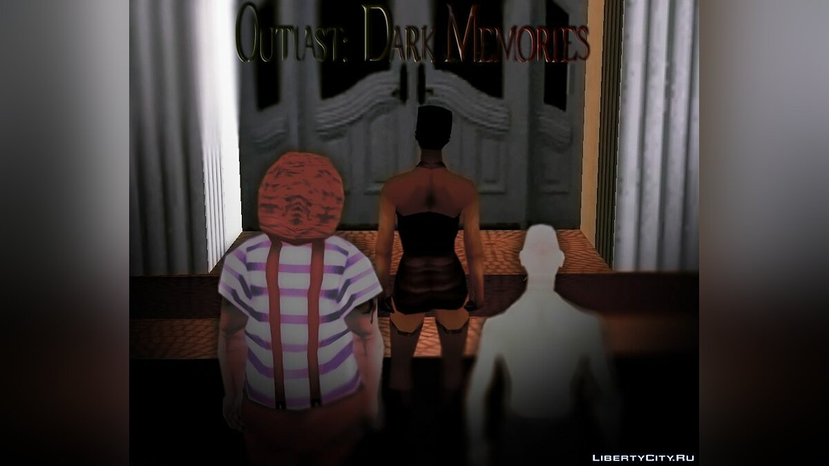 New mission Outlast: Dark Memories for GTA San Andreas
