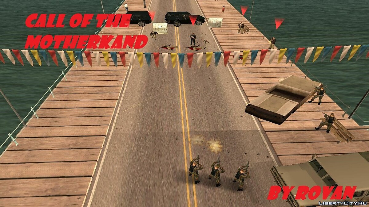 New mission Call of the Motherland for GTA San Andreas