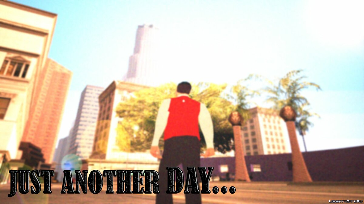 New mission Just Another Day for GTA San Andreas