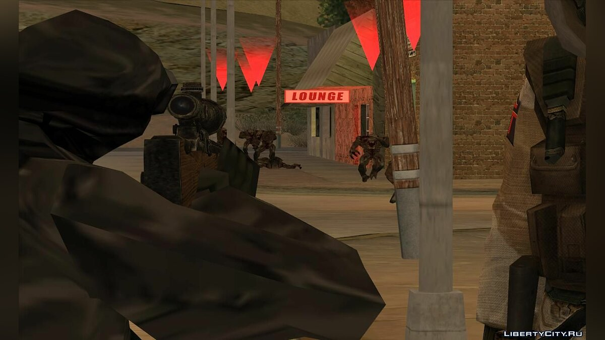 New mission Marines of Francisco - Undead Rising for GTA San Andreas