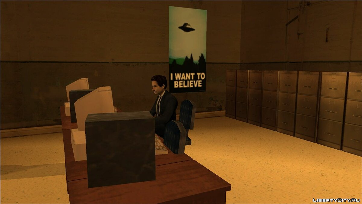 New mission The X-Files for GTA San Andreas