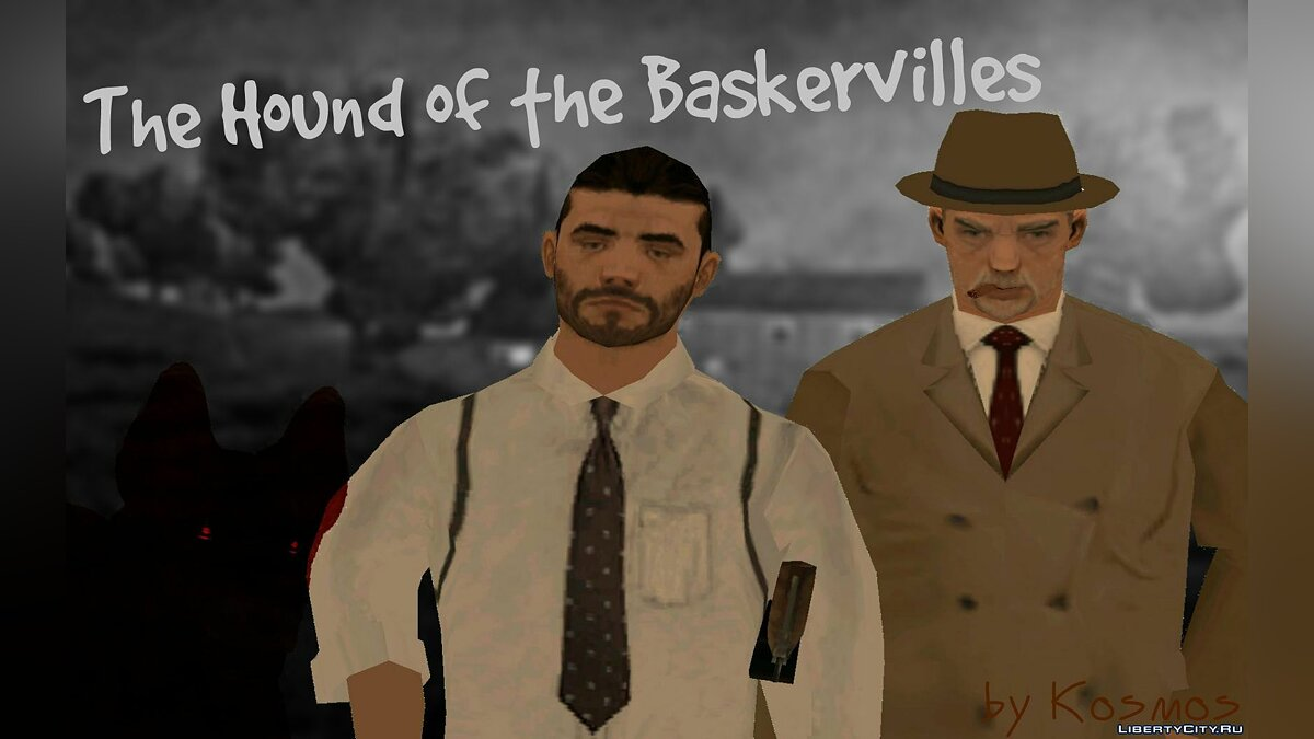 New mission Hound of the Baskervilles for GTA San Andreas