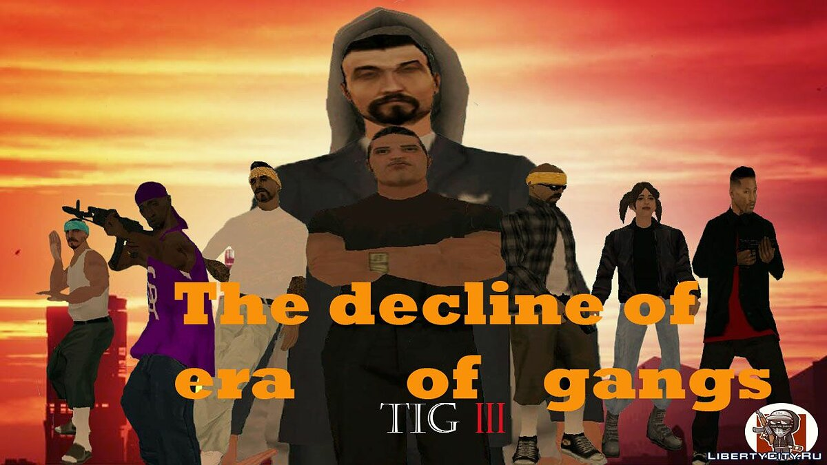 New mission The Decline Of The Era of Gangs for GTA San Andreas