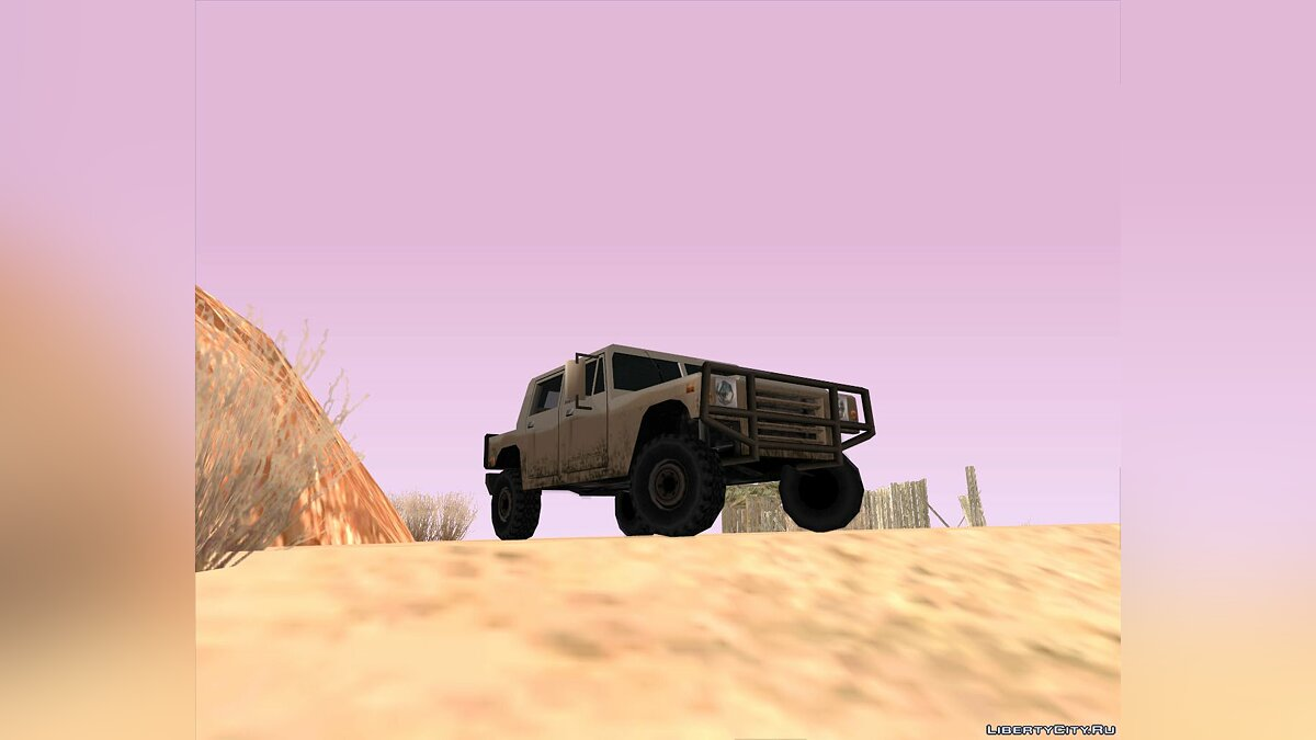 New mission Fury Road (Race) for GTA San Andreas