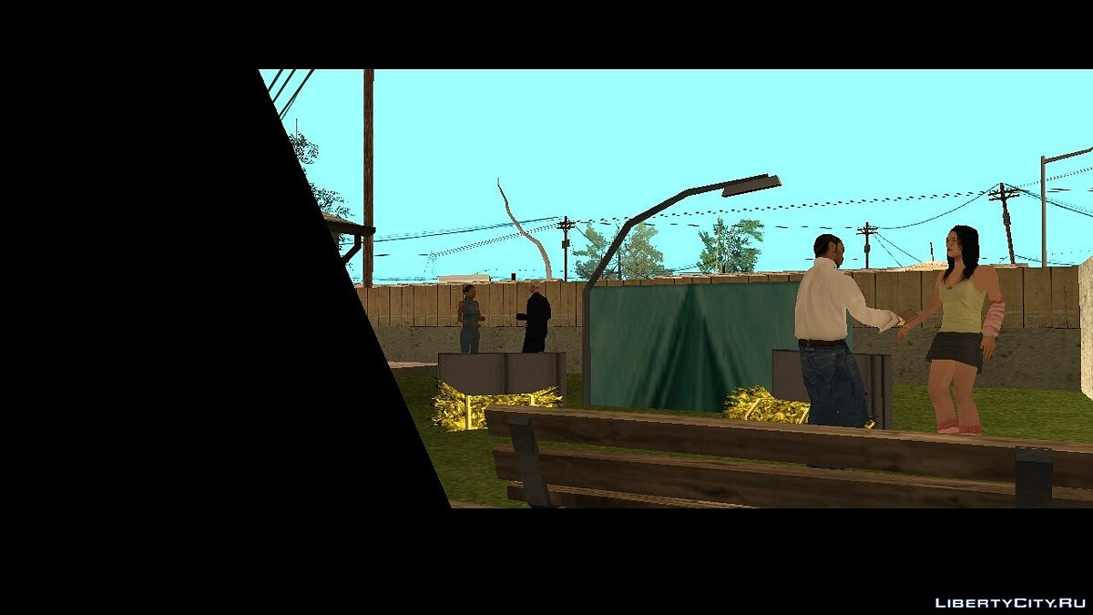 New mission Life of Los Santos. 3 part for GTA San Andreas