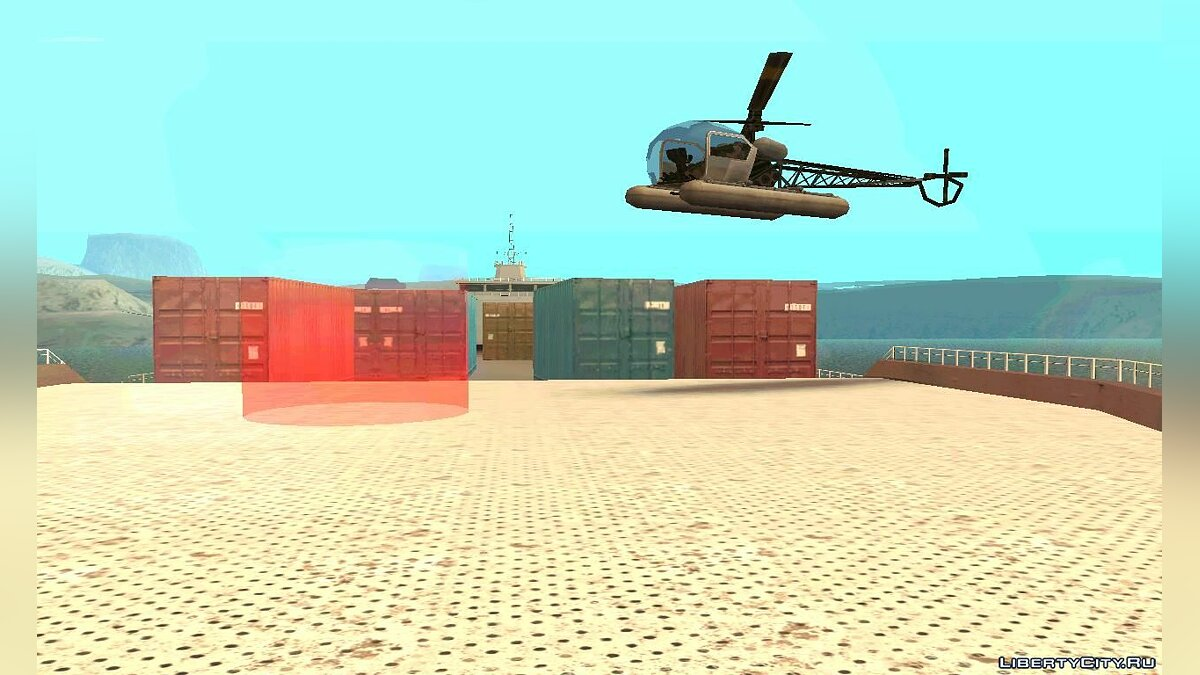 New mission Marines Francisco 3 for GTA San Andreas