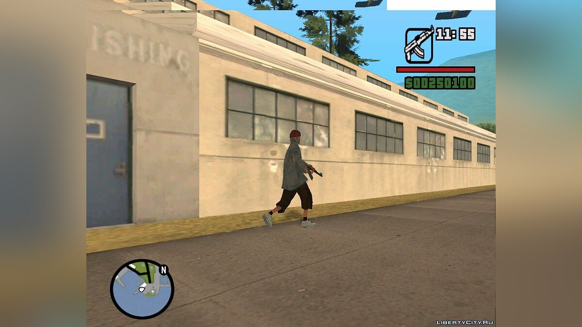 New mission The Secret of Truth. 1 part for GTA San Andreas