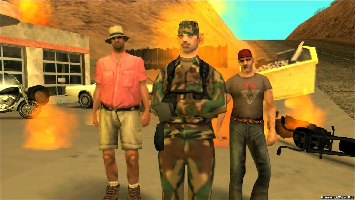 New mission Cowboys: The Tale of Betty Shore (Season Two) for GTA San Andreas