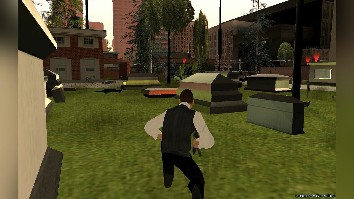 New mission Escape from justice for GTA San Andreas