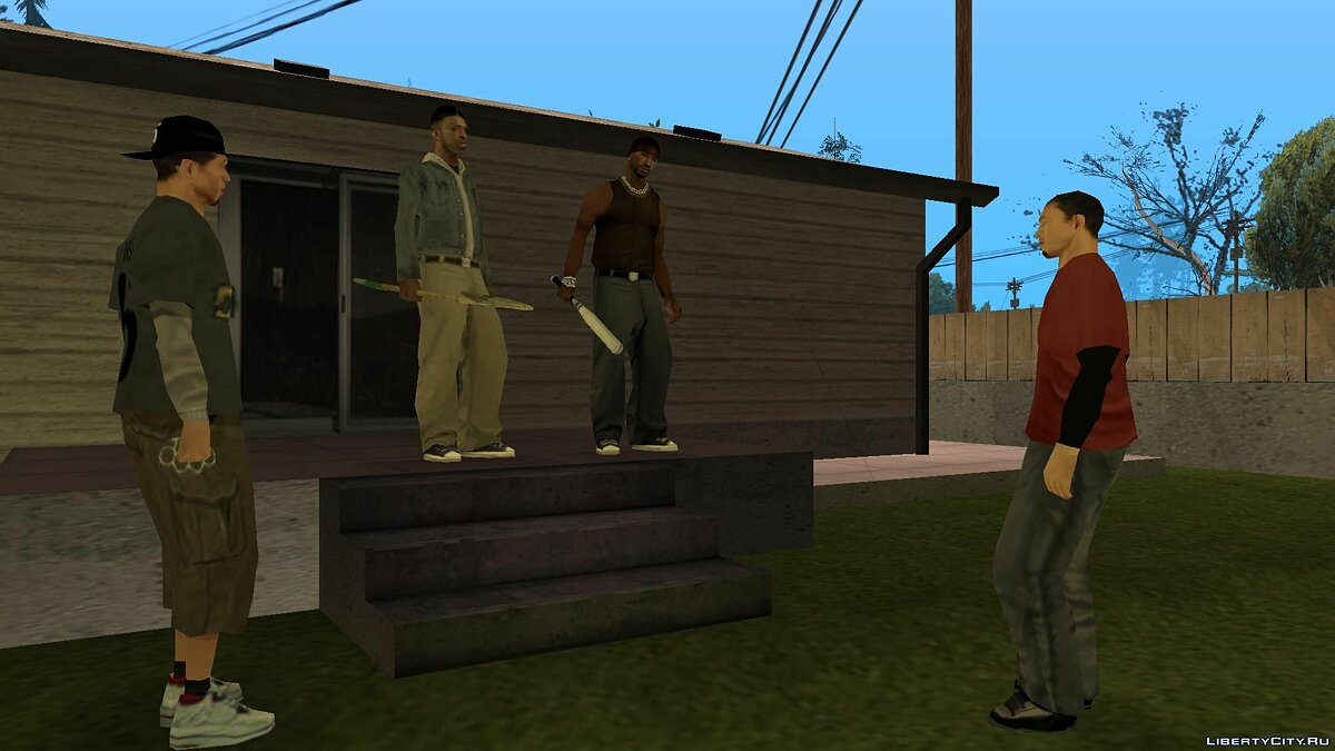 New mission Return from Colombia (History of Leo) for GTA San Andreas