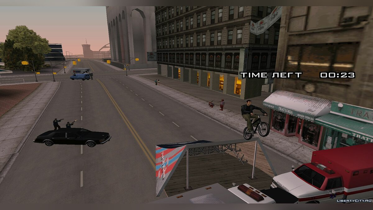 New mission Not so quiet in the city IV Beyond of Liberty for GTA San Andreas
