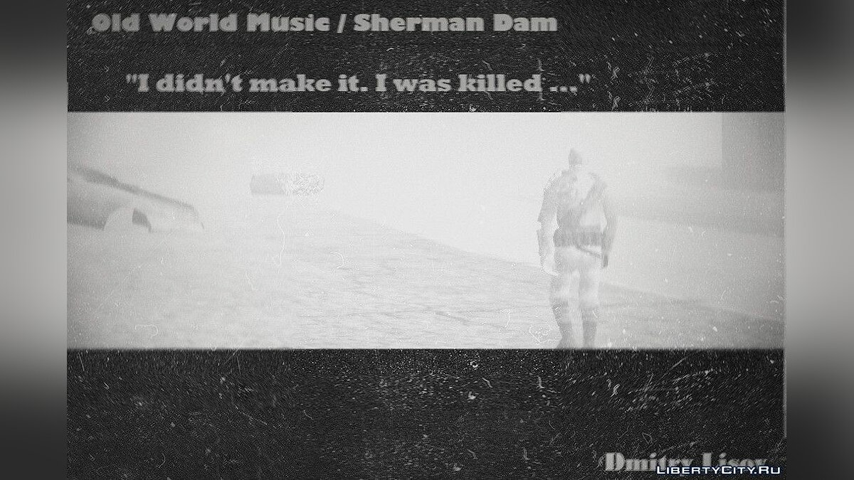 New mission Old World Music: Sherman Dam for GTA San Andreas