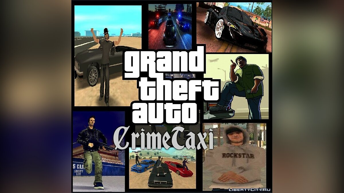 New mission CrimeTaxi Chronicles: Chapter One for GTA San Andreas