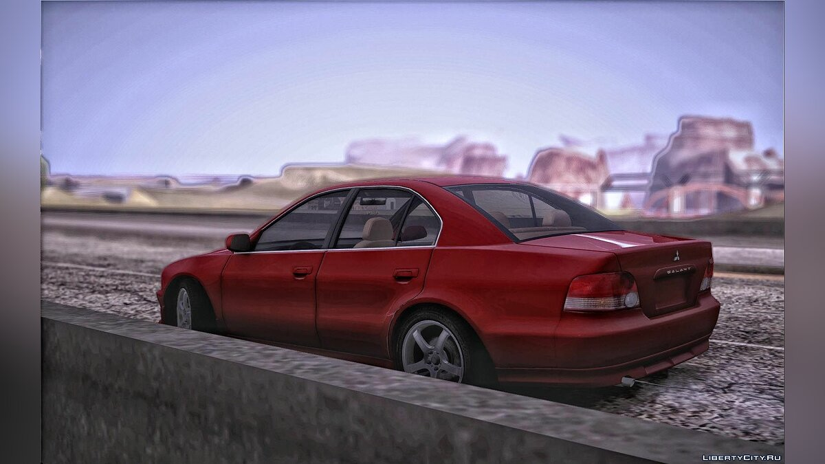 Mitsubishi car Mitsubishi Galant for GTA San Andreas