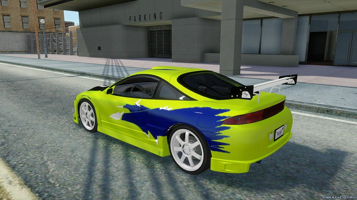 Mitsubishi car Mitsubishi Eclipse GSX 1996 from Fast and Furious 1 for GTA San Andreas