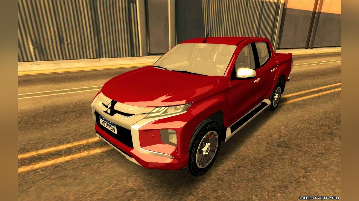 Mitsubishi car Mitsubishi L200 2020 for GTA San Andreas
