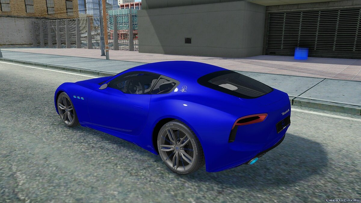 Mitsubishi car Maserati alfieri for GTA San Andreas