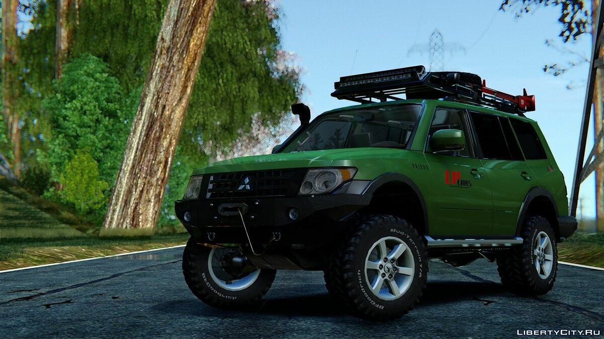 Mitsubishi car Mitsubishi Pajero 4 Off Road for GTA San Andreas