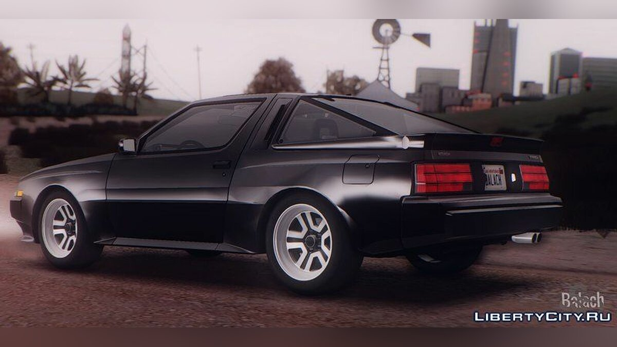 Mitsubishi car Mitsubishi Starion ESi-R (US-Spec) 1986 1.1.0 for GTA San Andreas