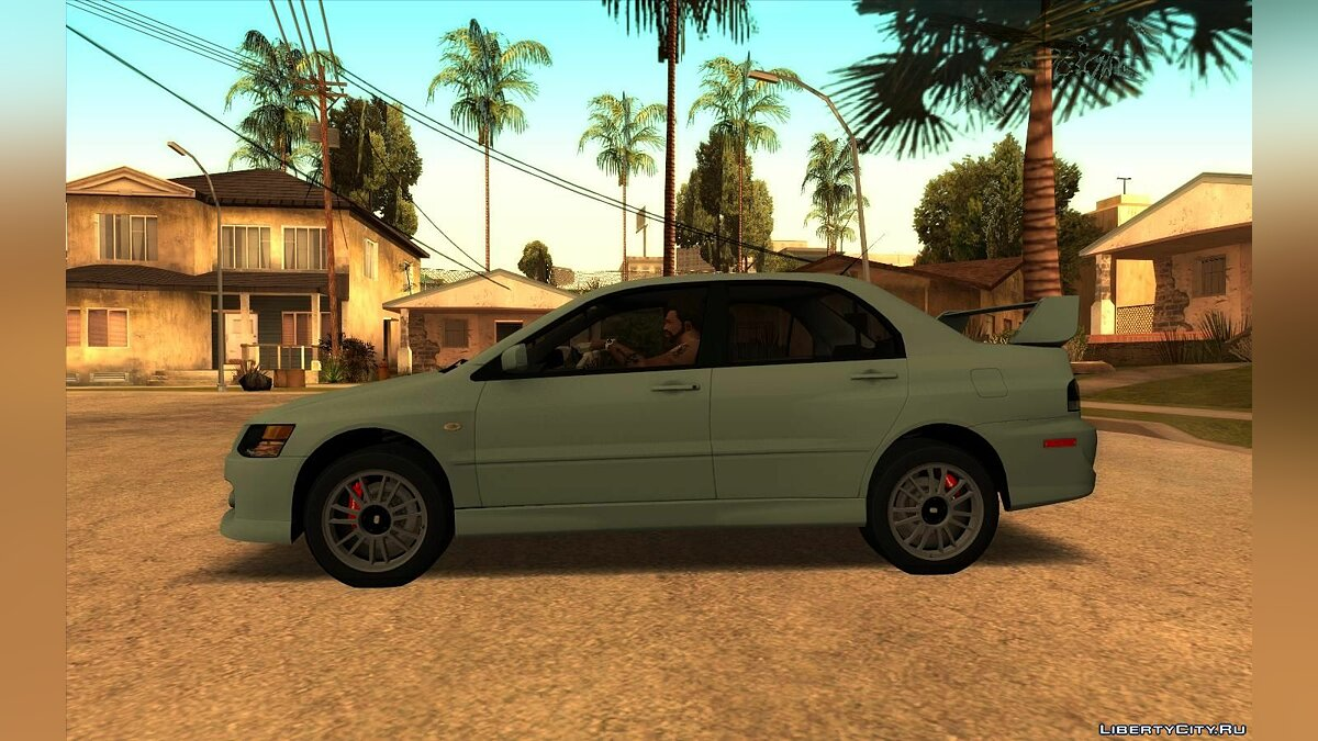 Mitsubishi car Mitsubishi Lancer Evolution IX MR Edition [RHA] for GTA San Andreas