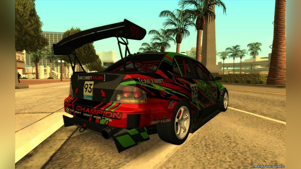 Mitsubishi car 2006 Mitsubishi Lancer Evolution IX Voltex Edition for GTA San Andreas