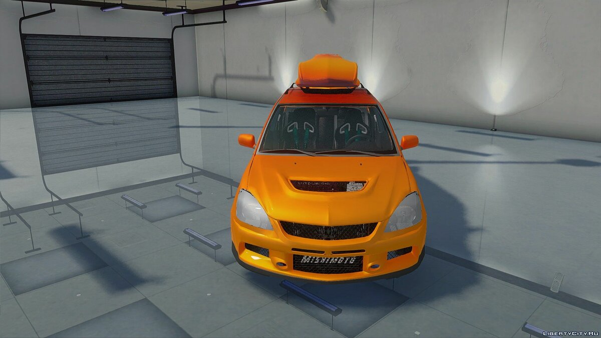Mitsubishi car Mitsubishi Lancer Evolution IX MR for GTA San Andreas
