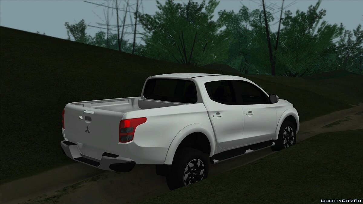 Mitsubishi car Mitsubishi L200 for GTA San Andreas