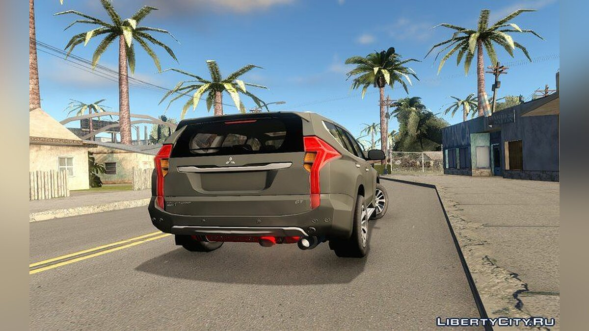 Mitsubishi car Mitsubishi Montero Sport 2016 for GTA San Andreas