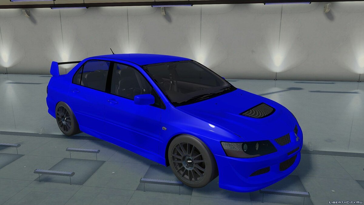 Mitsubishi car Mitsubishi Lancer Evolution VIII for GTA San Andreas