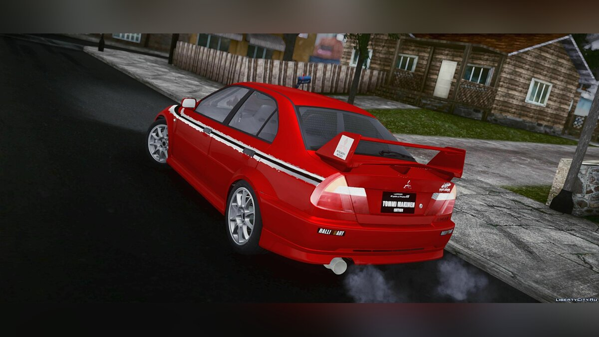 Mitsubishi car Mitsubishi Lancer Evo VI Tommi Makinen Edition for GTA San Andreas