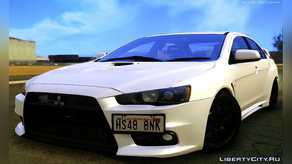 Mitsubishi car 2015 Mitsubishi Lancer Evolution X Final Edition for GTA San Andreas