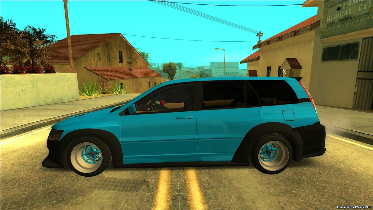 Mitsubishi car Mitsubishi Lancer Evolution IX Wagon Wide Body for GTA San Andreas