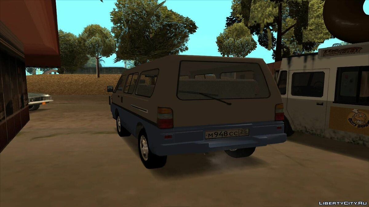 Mitsubishi car Mitsubishi L300 for GTA San Andreas