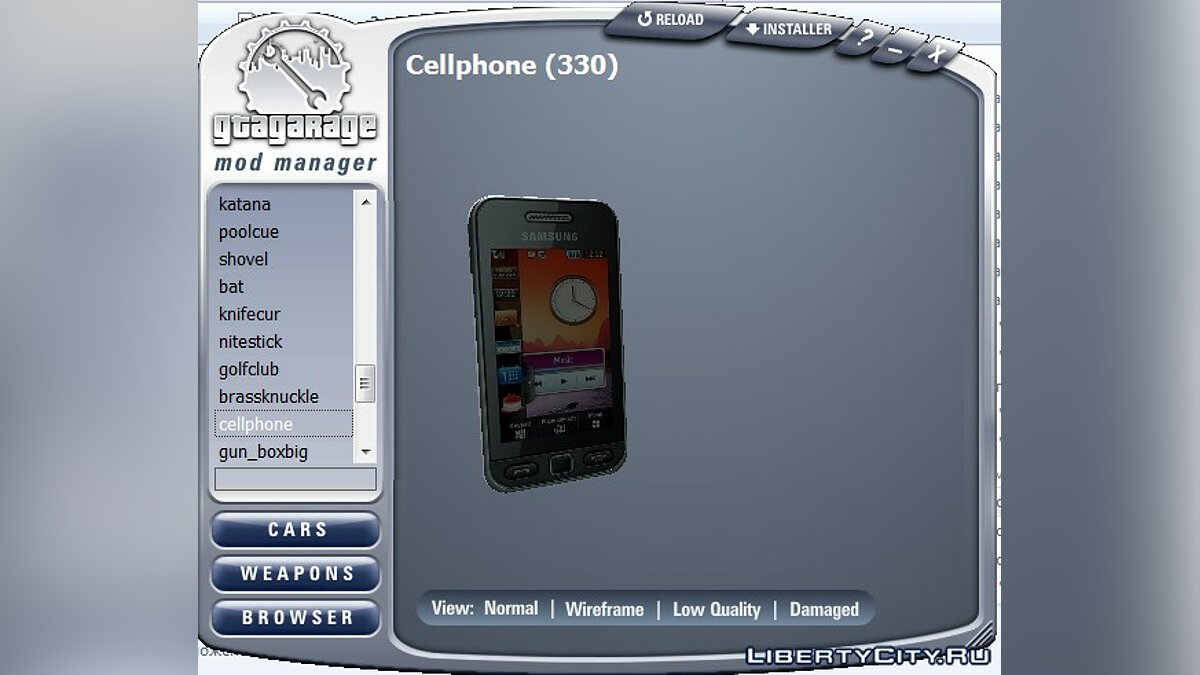 Cellphone Big pack of v3 phones for GTA San Andreas