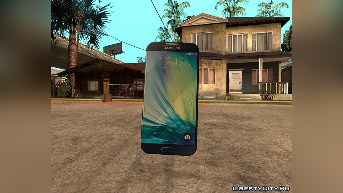 Cellphone Samsung Galaxy A3 for GTA San Andreas