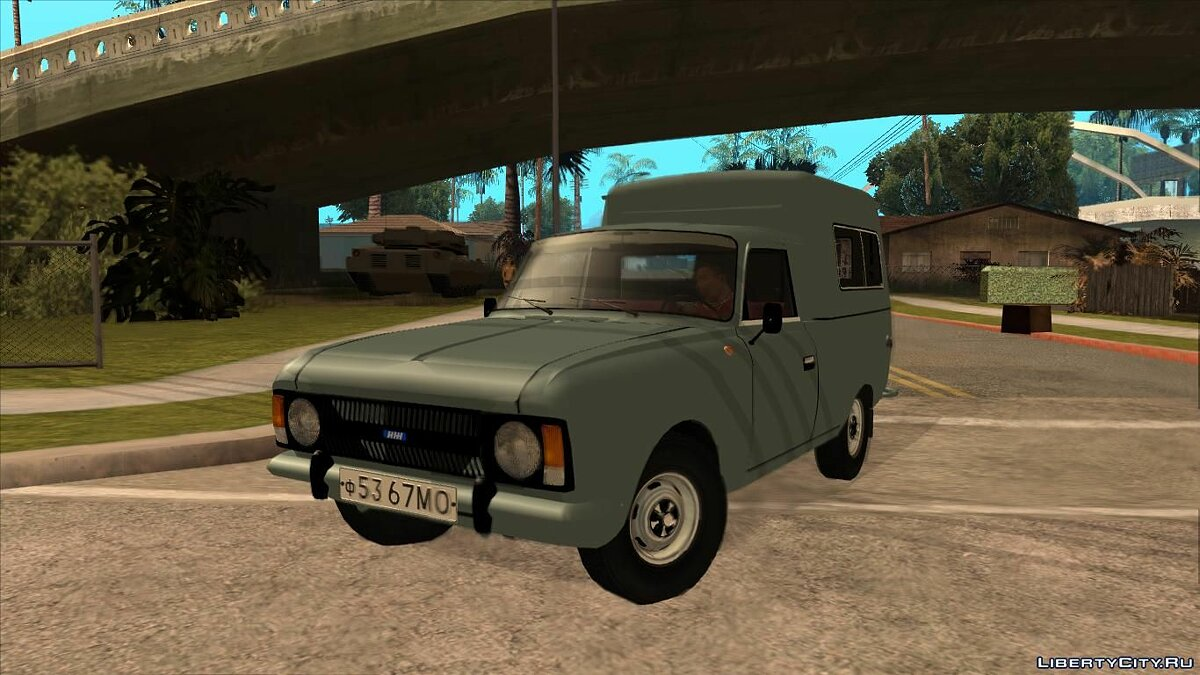 Moskvitch car IZH-27156 for GTA San Andreas