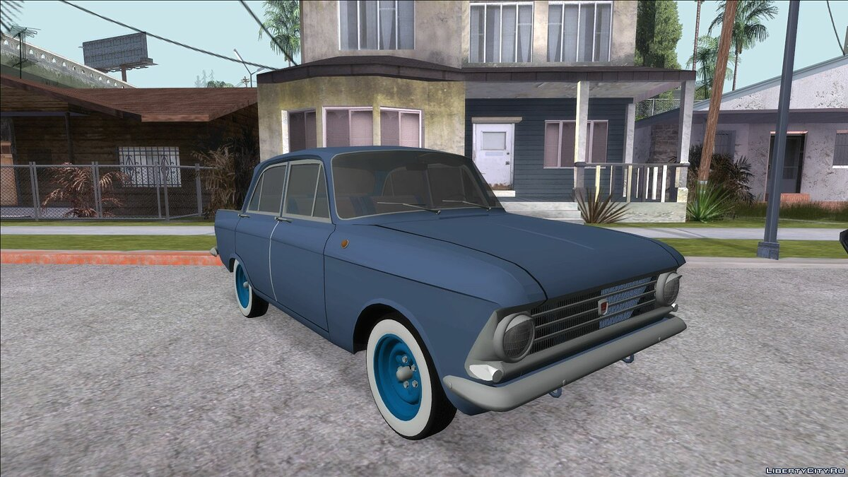 Moskvitch car Moskvich 408 for GTA San Andreas