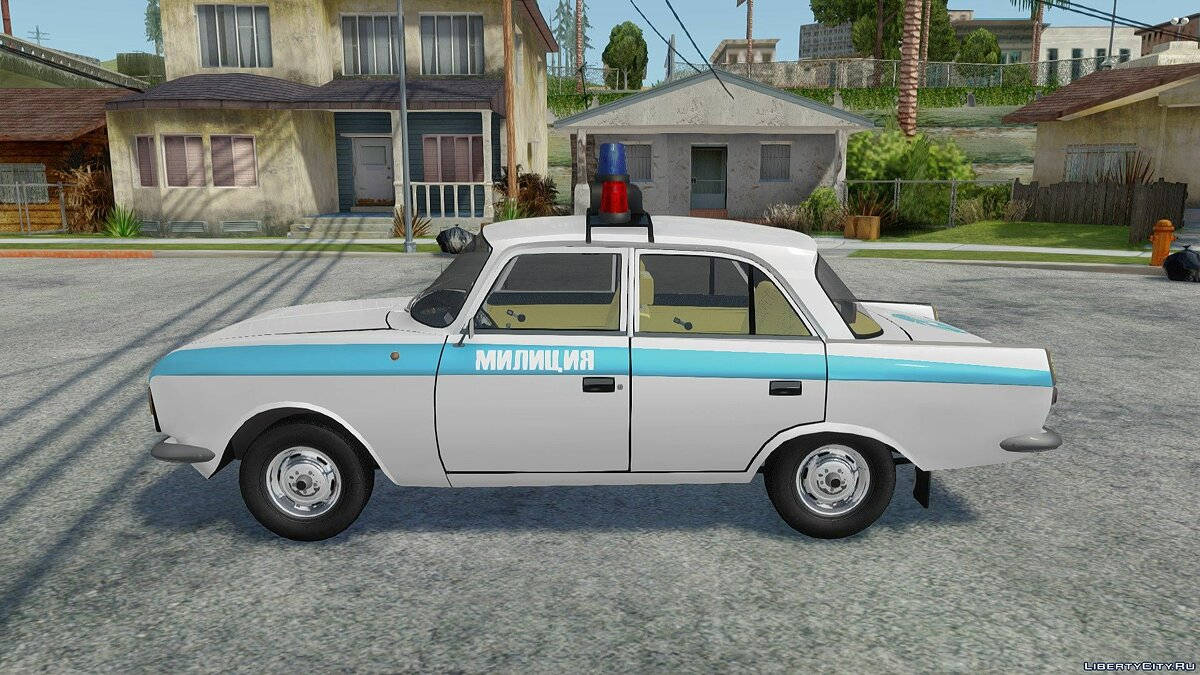 IZH-412-028 Police for GTA San Andreas - Картинка #2