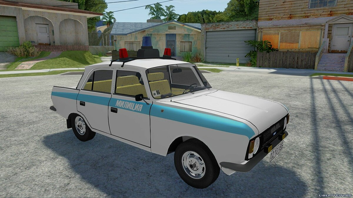 IZH-412-028 Police for GTA San Andreas - Картинка #4