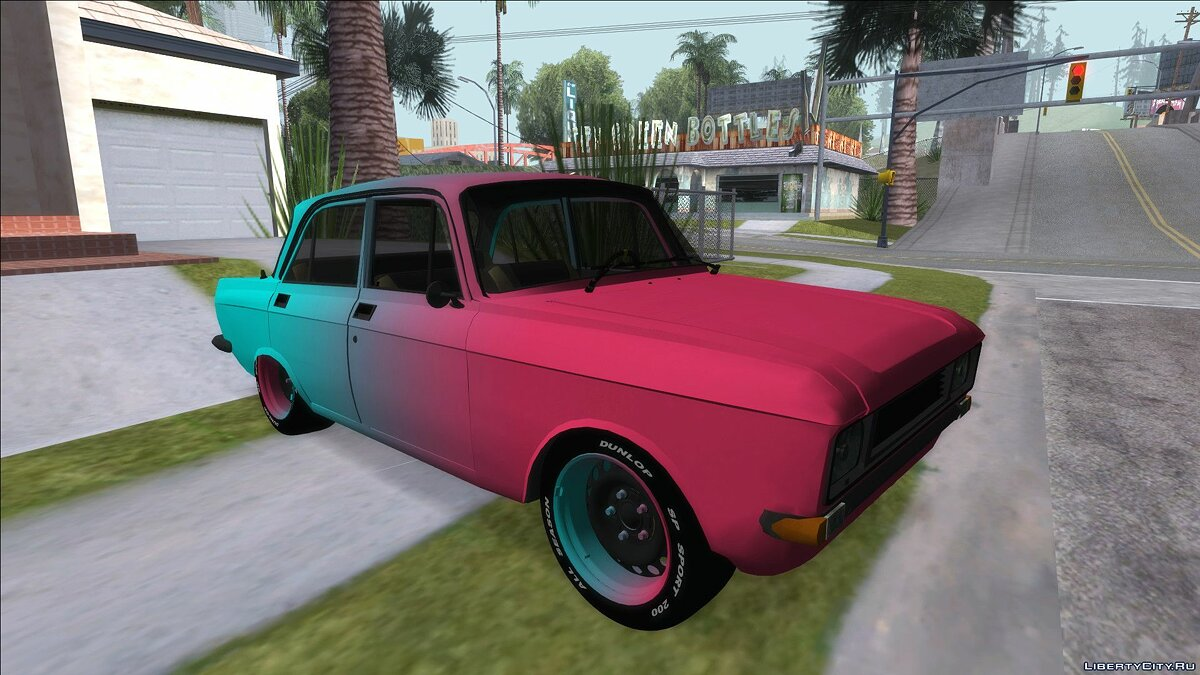 Moskvitch car Moskvich Sport for GTA San Andreas