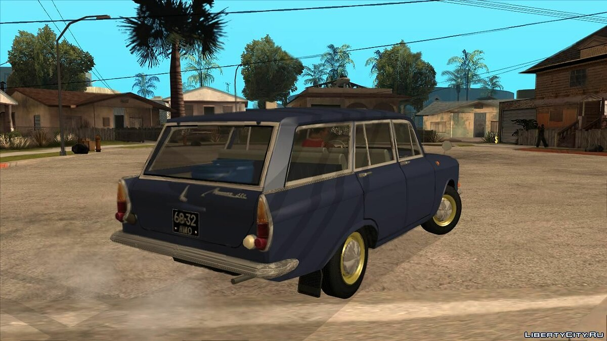 Moskvitch car MZMA 426E for GTA San Andreas