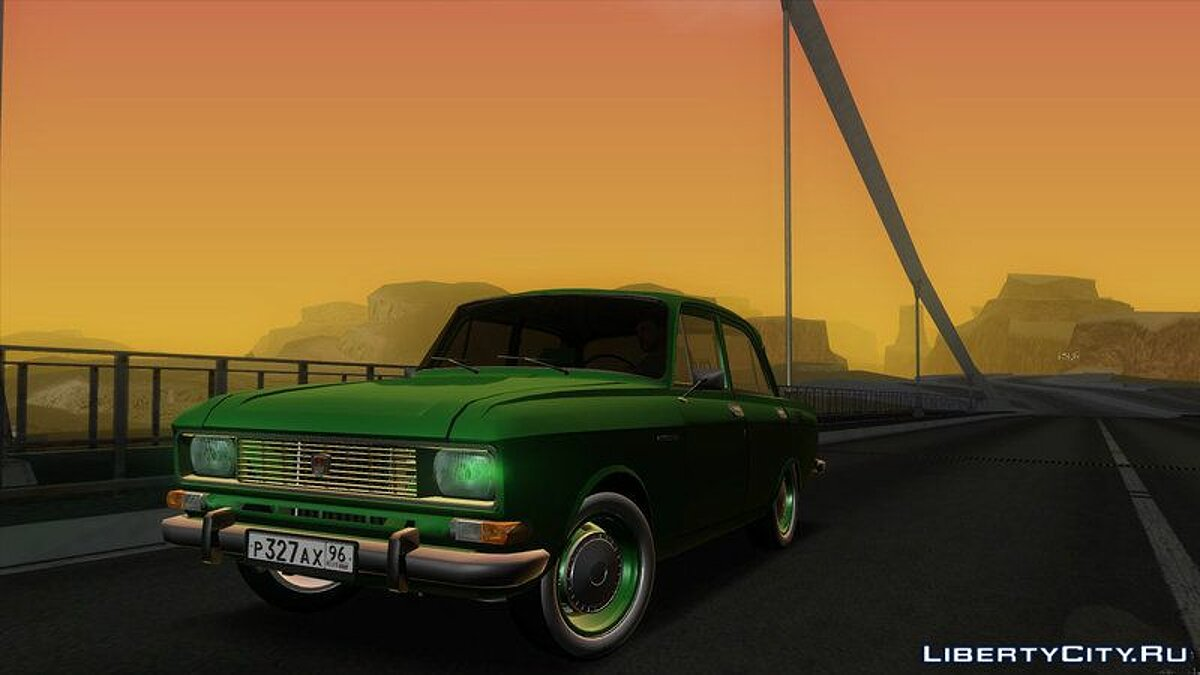 Moskvitch car Moskvich-2140 (AZLK 2140) for GTA San Andreas