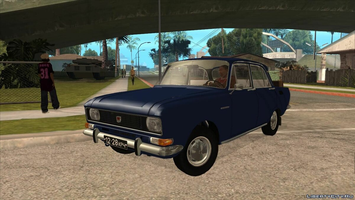 Moskvitch car Moskvich 2140 (January 1976) for GTA San Andreas