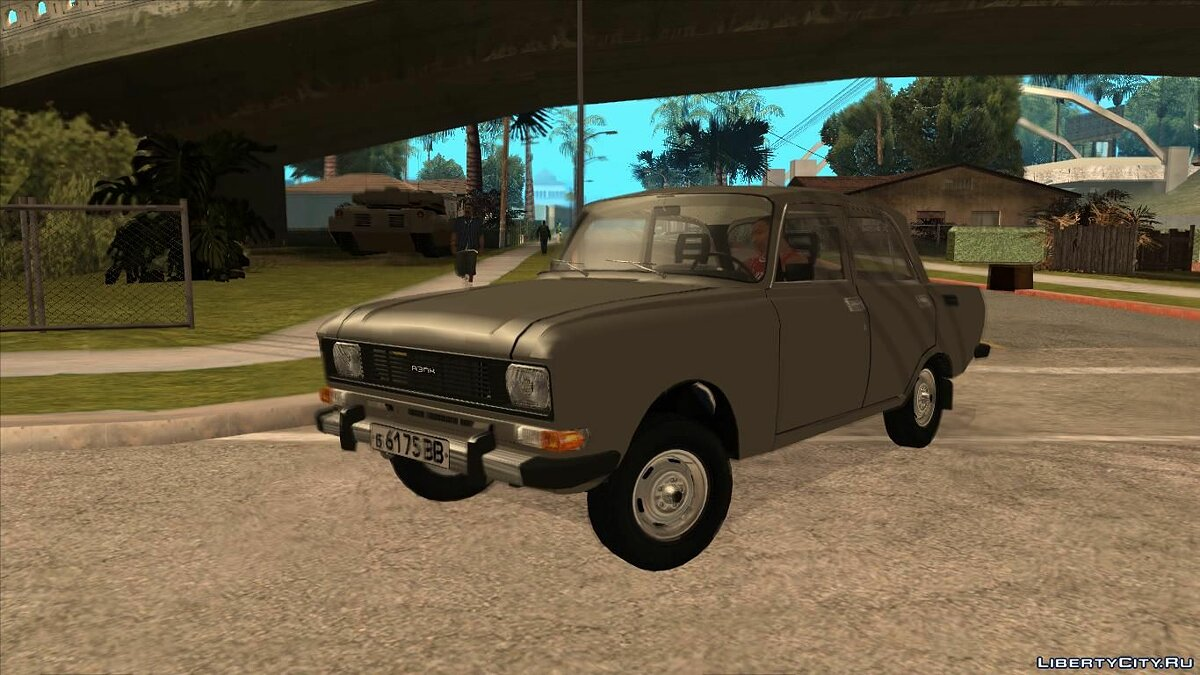 Moskvitch car Moskvich 2140 v2.0 The late version (1981) for GTA San Andreas