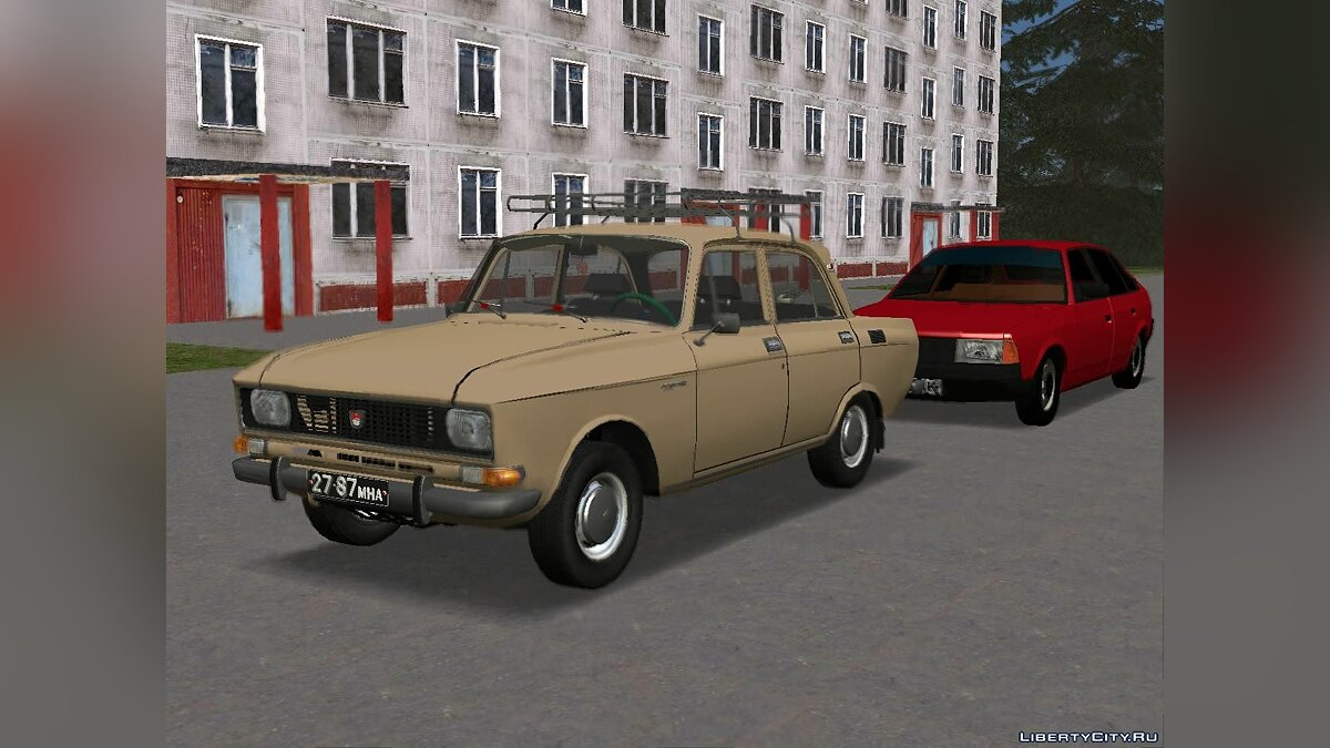 Moskvitch car Moskvich-2138 for GTA San Andreas