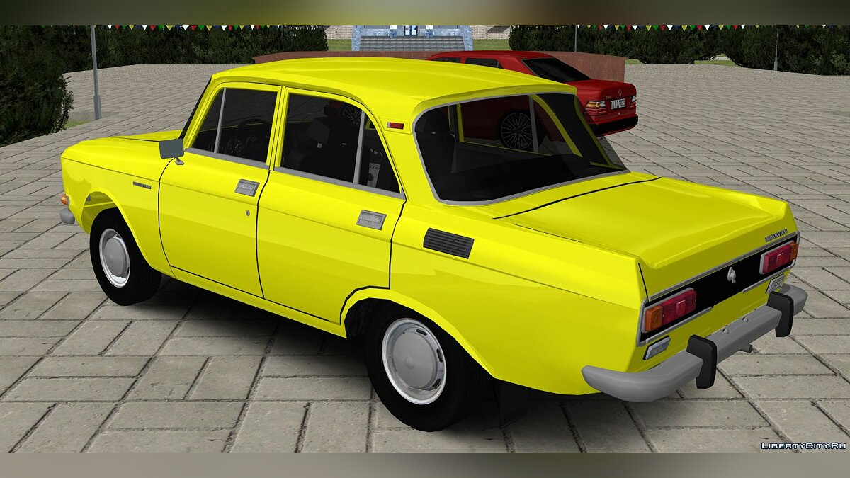 Moskvitch car Moskvich AZLK for GTA San Andreas