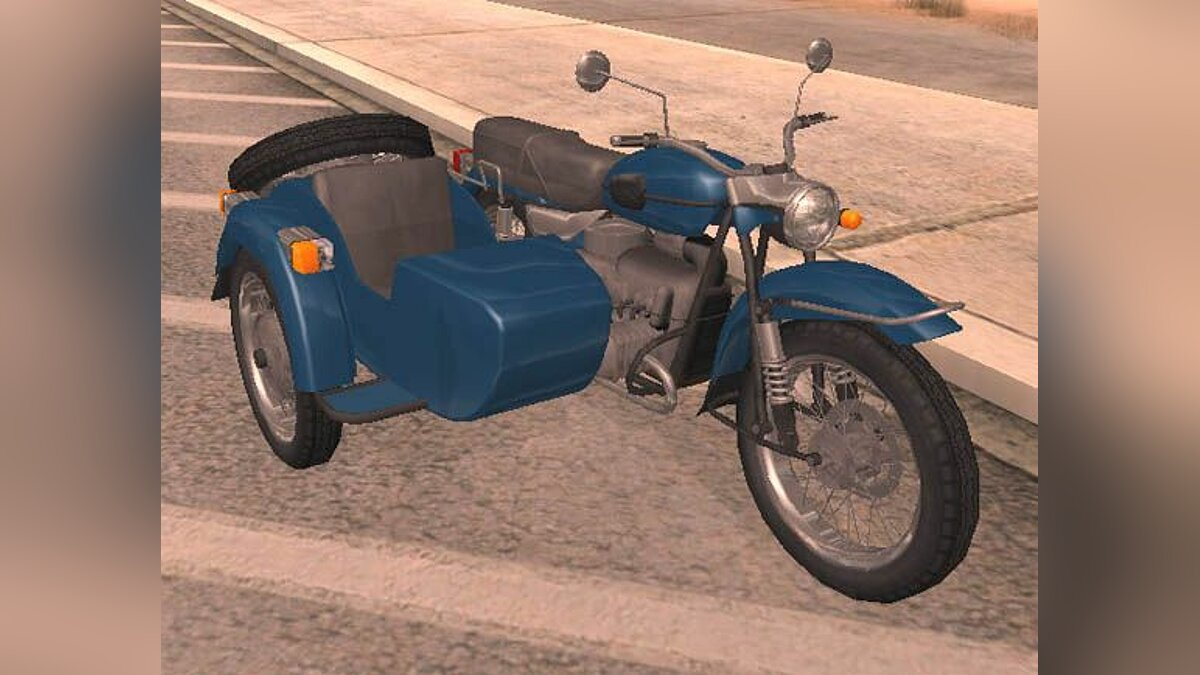 Motorbike Motorcycle Ural for GTA San Andreas