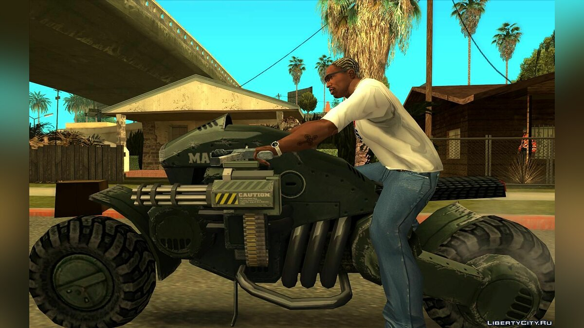 Motorbike UNSC Bike from HALO for GTA San Andreas